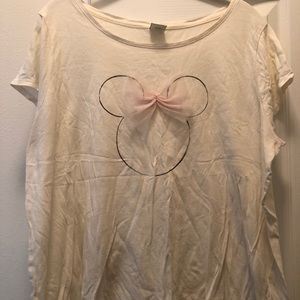 Lauren Conrad Minnie Mouse Tee XL